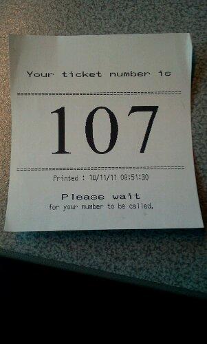 visa request ticket