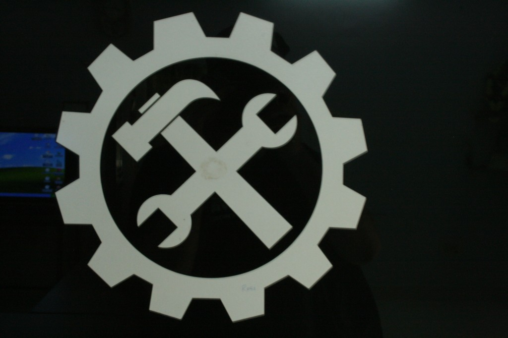 the logo of the college