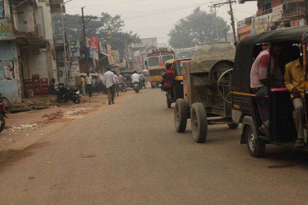 en route to bangalore