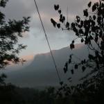 early morning, sun rising