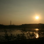 after shimoga, slowly the sun sets