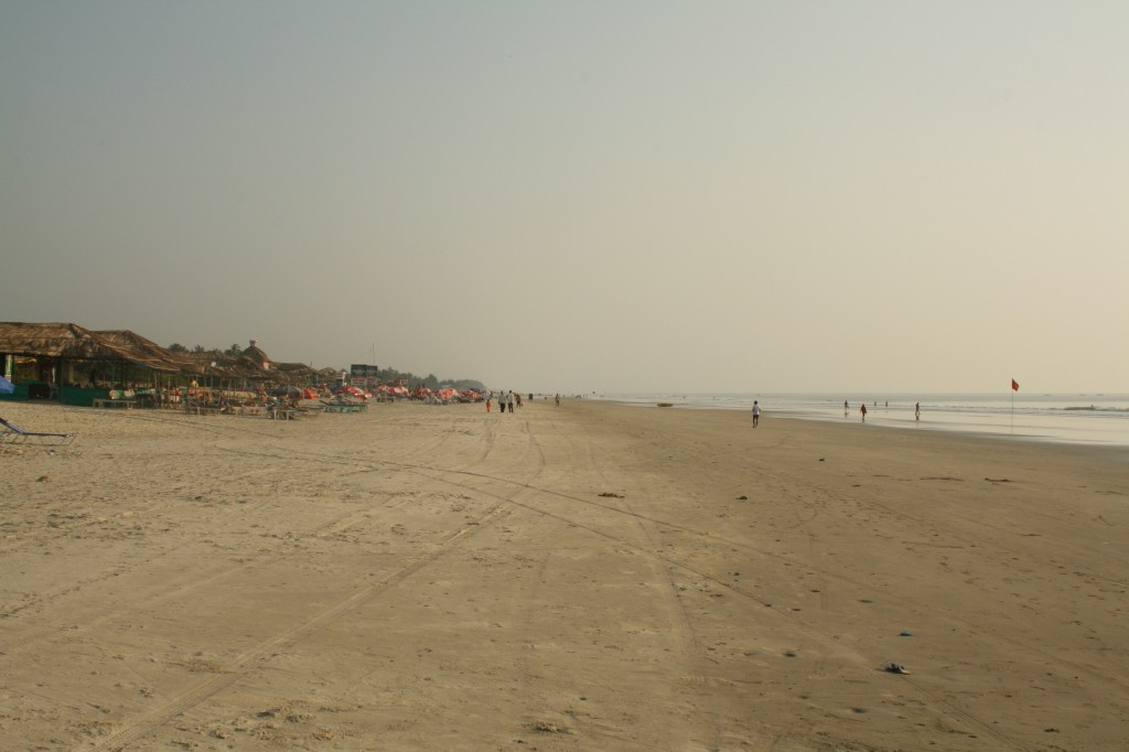 our beach - very empty...