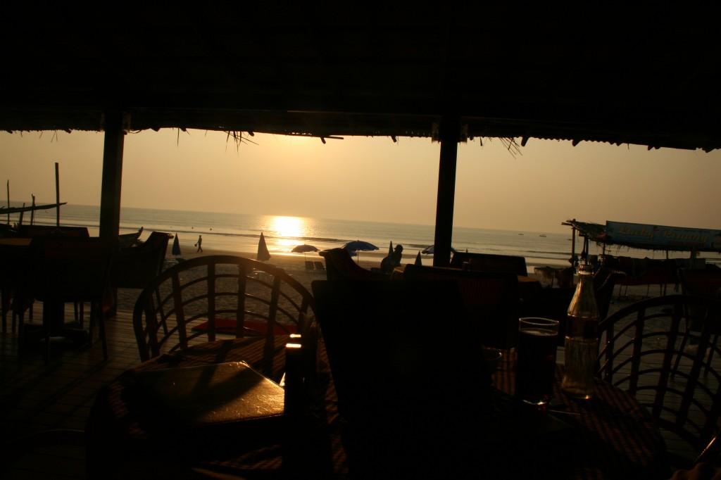 the office at sundown
