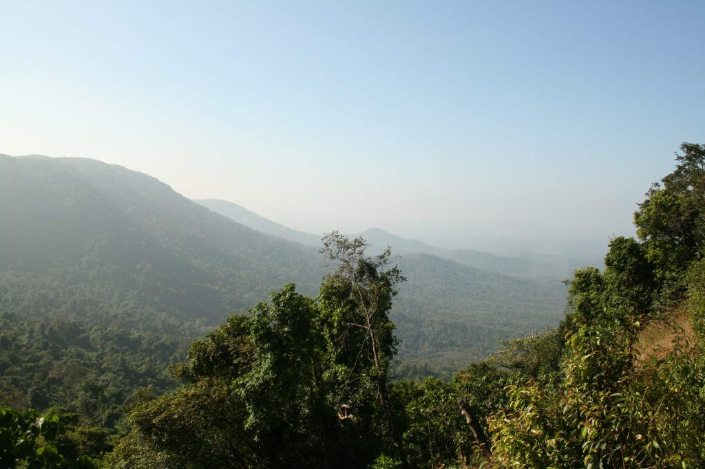 climbing up to 670m - beautiful views to be seen
