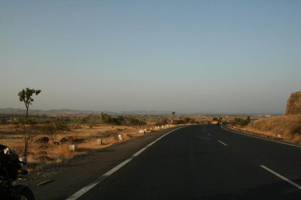 en route to satara