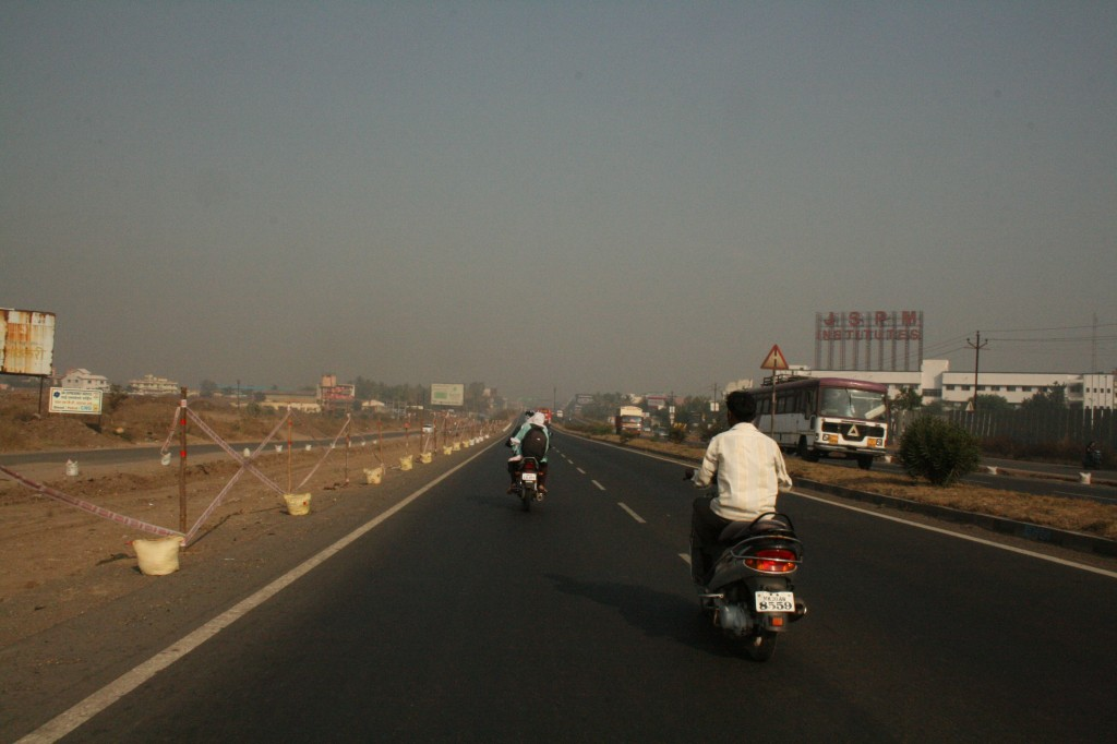 last few kms to mumbai