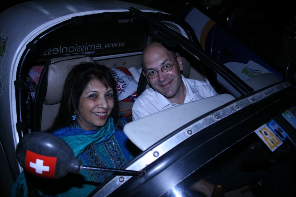 mumbai's sherrif in the TWIKE