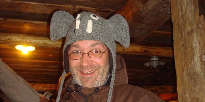 india-inspired hat against -24°C!
