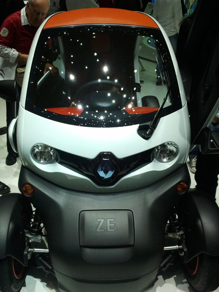 renault twizy - very urban, very chic, very affordable
