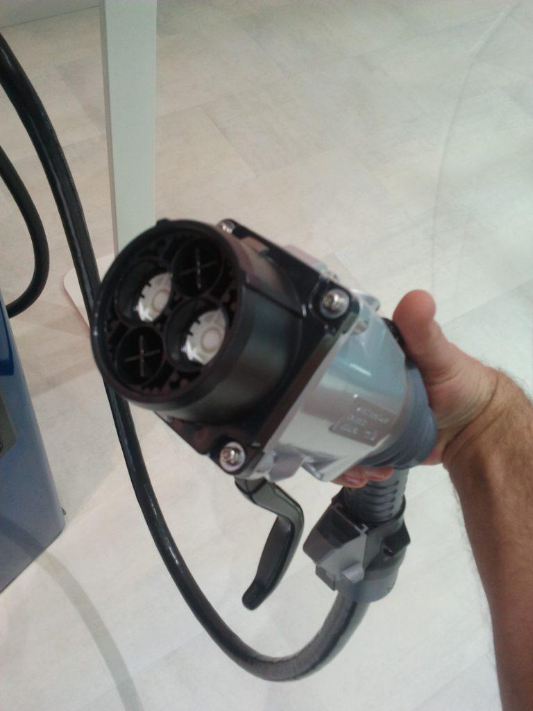 chademo - 53kw quick charge plug