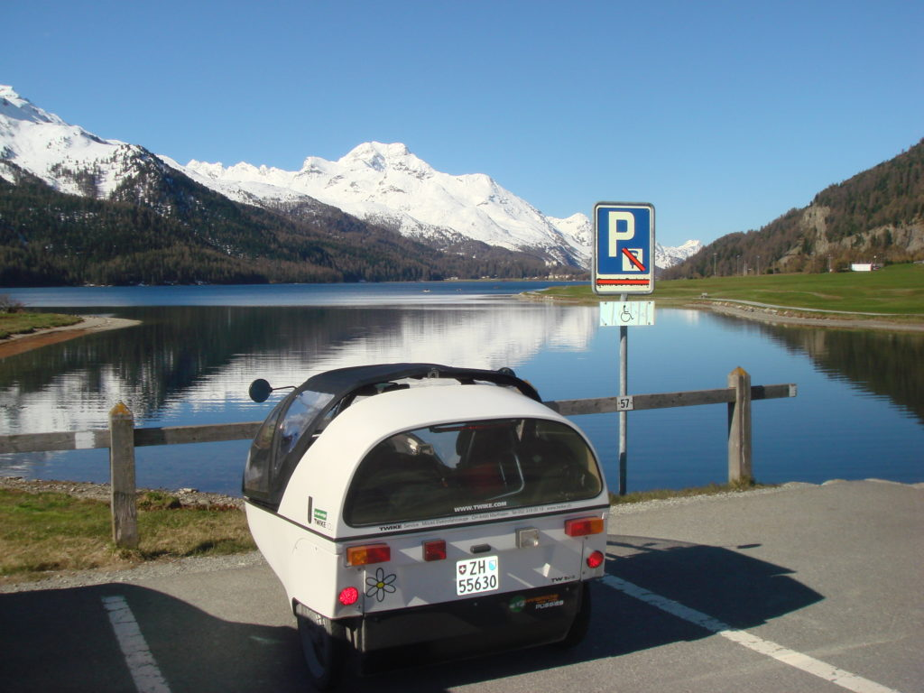 on our way to italy > lake silvaplana near st. moritz