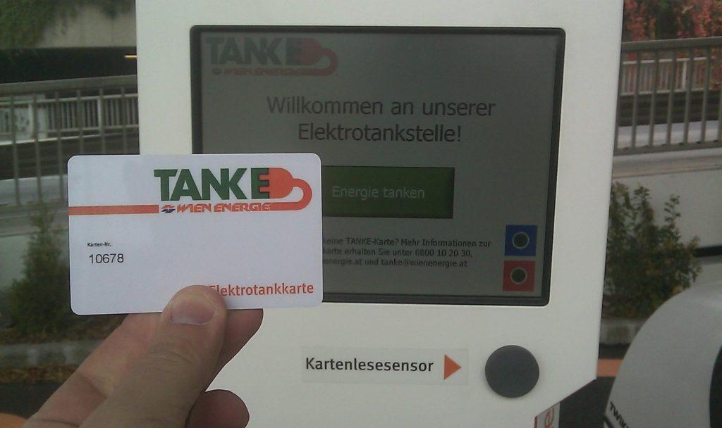 charging at TANKE