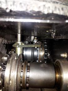 TWIKE decoupling mechanism close-up