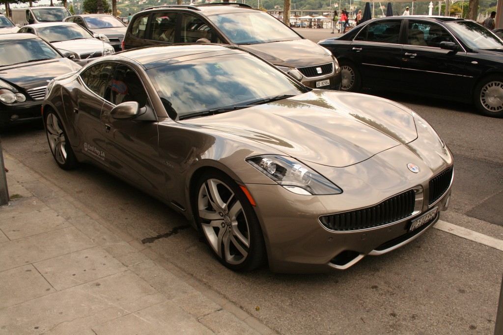 Fisker karma, one really good looking car!
