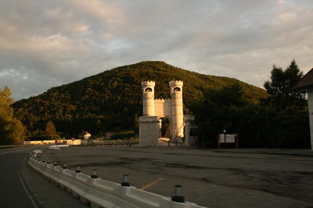 the bridge to aix-les-bains