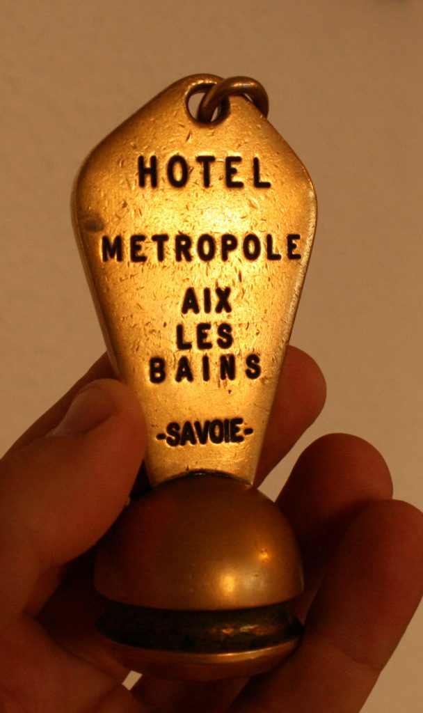 the key to a hotel which has seen its best days long ago!