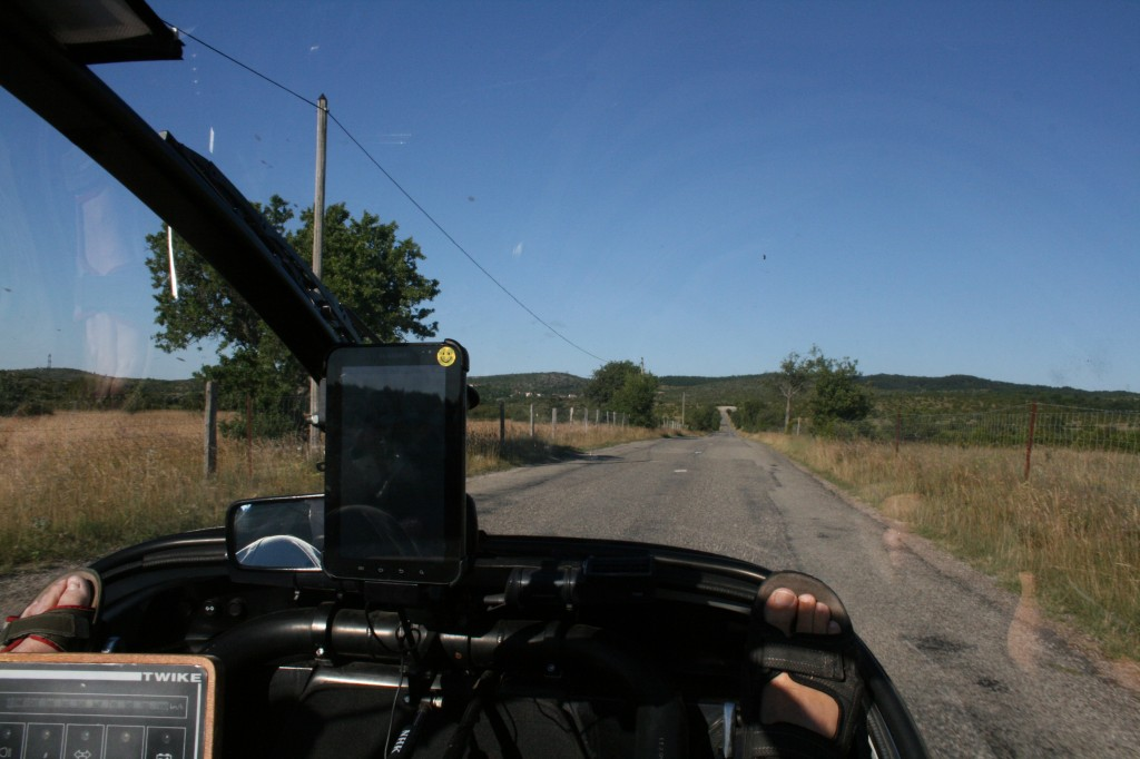 driving on the plateau