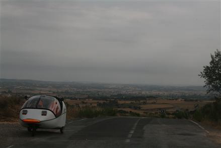 heading up from the northern spanish lowlands