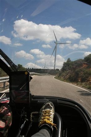 dozens of windparks, but no mobile reception!