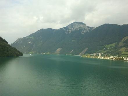 vierwaldstätter lake - a very nice place, indeed.