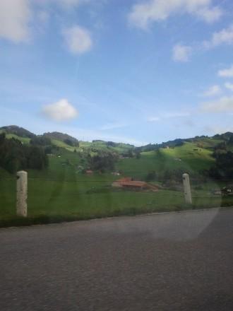 appenzell - first hills