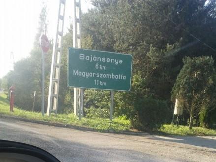 interesting village names ahead!