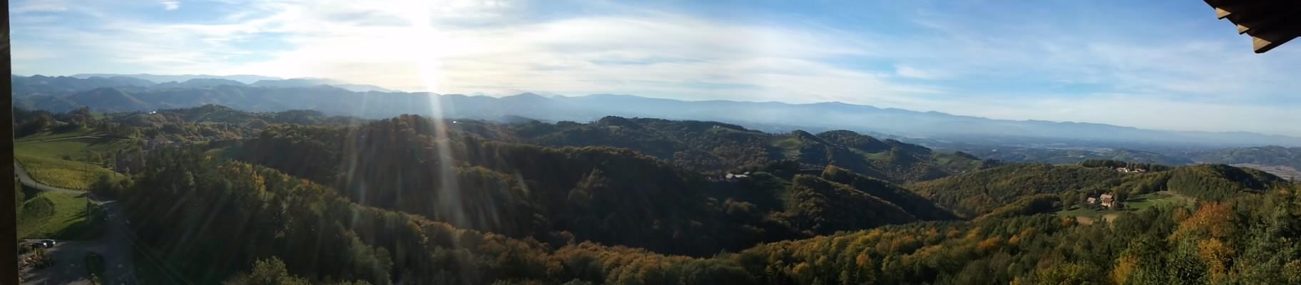 beautiful views ever few kilometers
