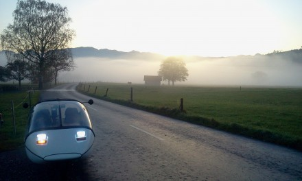 lower rhine valley, leaving the fog behind us