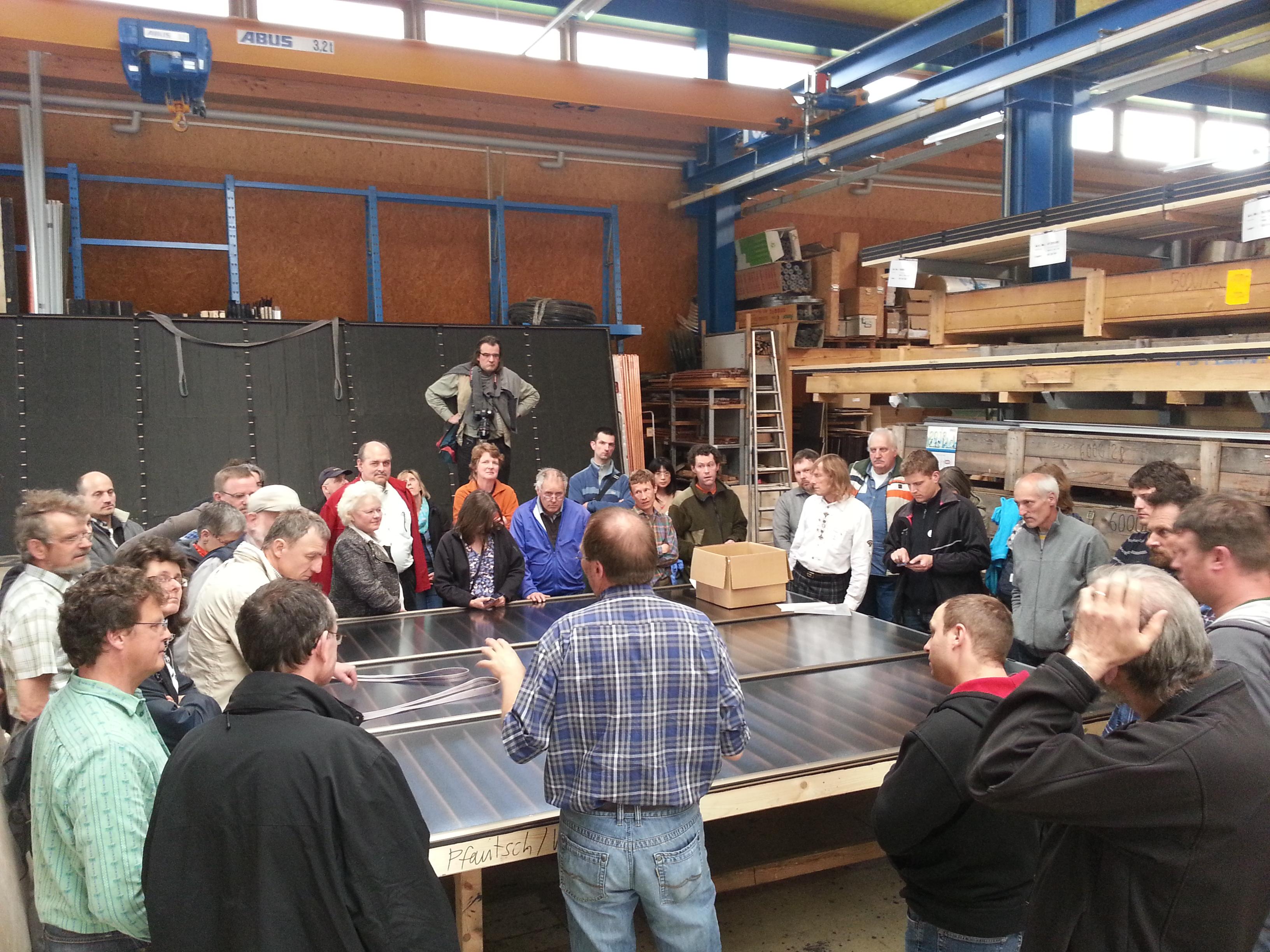 custom-made solar-thermal panels
