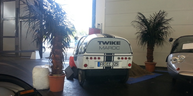 TWIKE_Maroc, the first TWIKE to fly partner with 3 TWIKEs in agadir, morocco