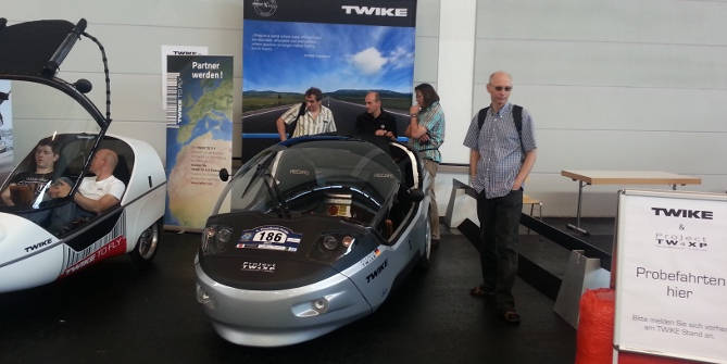 visitor's favourite: TW4 test drives