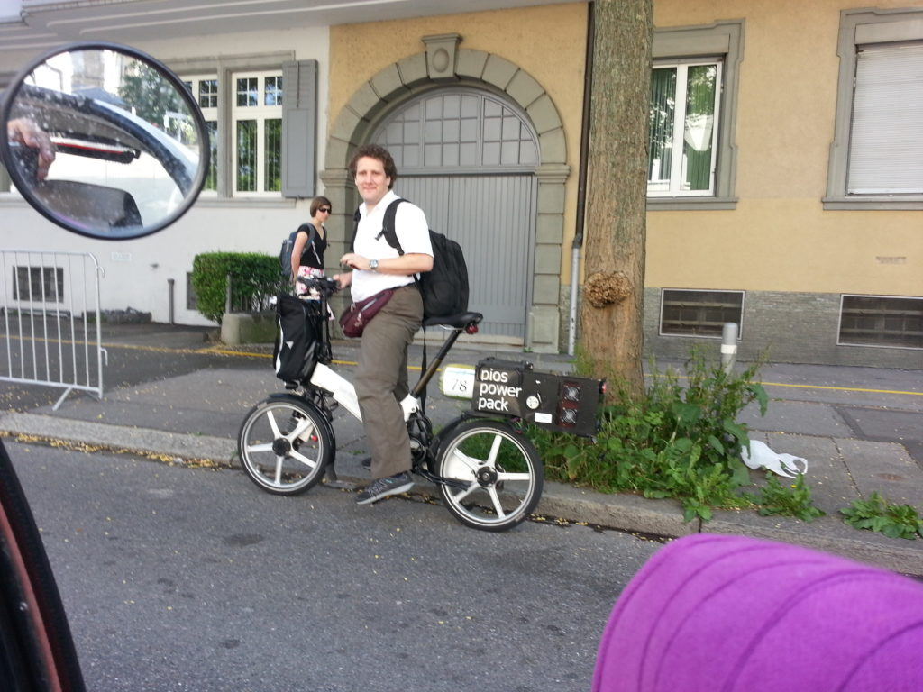 fuel cell bike
