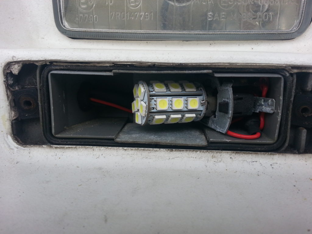 DRL bulbs in old enclosure