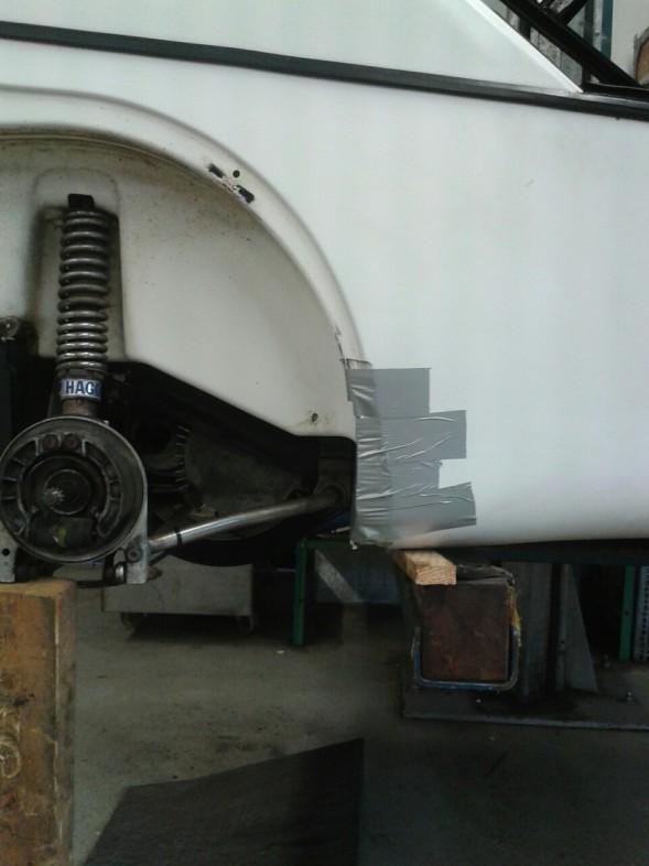 wheel well repair