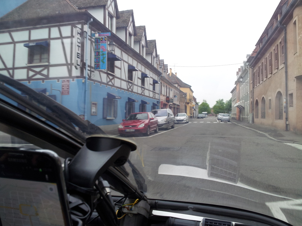 rural france - crossing a village