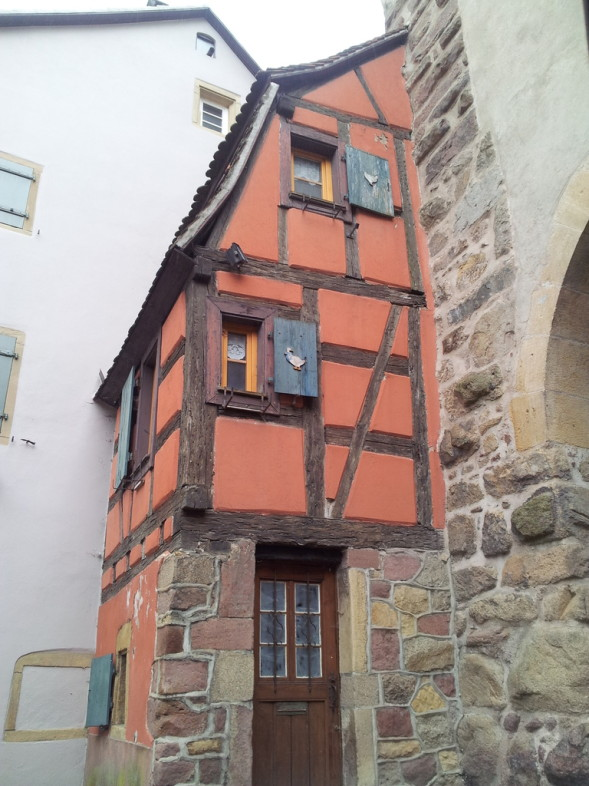 the smallest house in turckheim