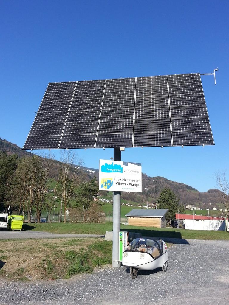 100% solar recharge