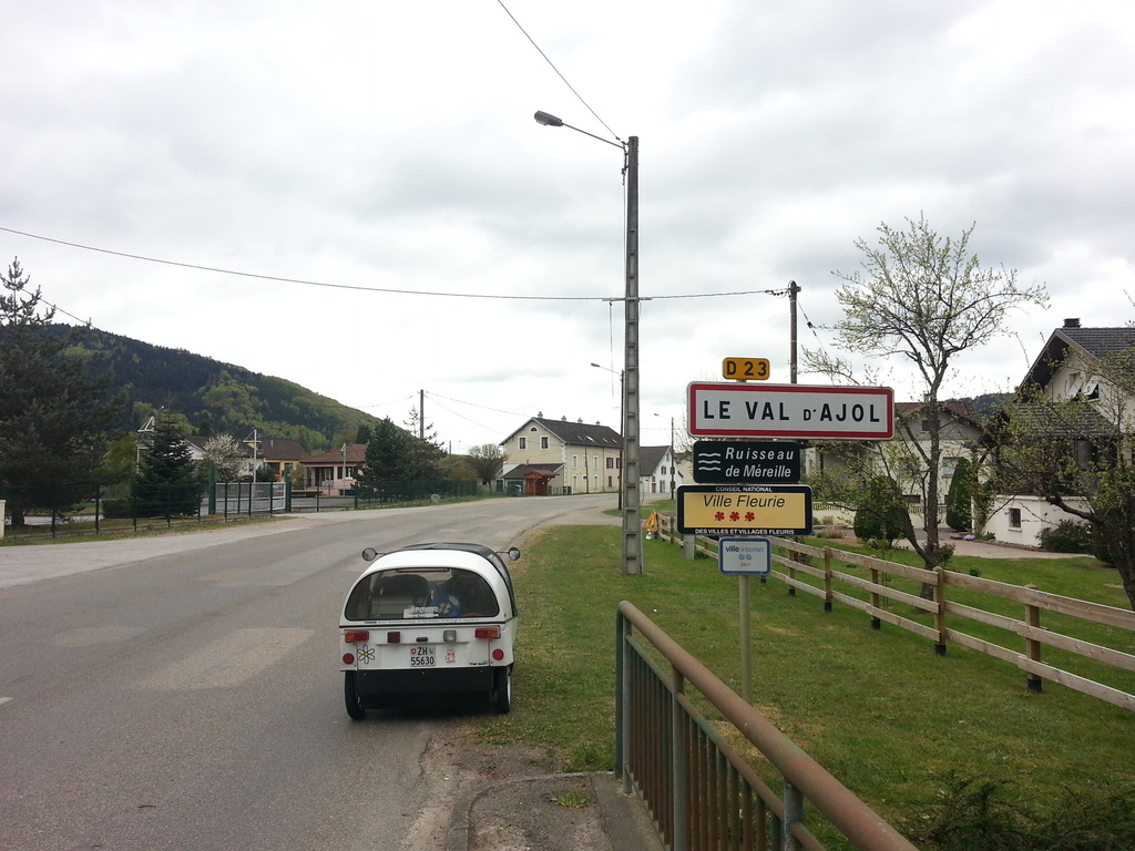 le val d'ajol - entry point for one of the best parts of the trip
