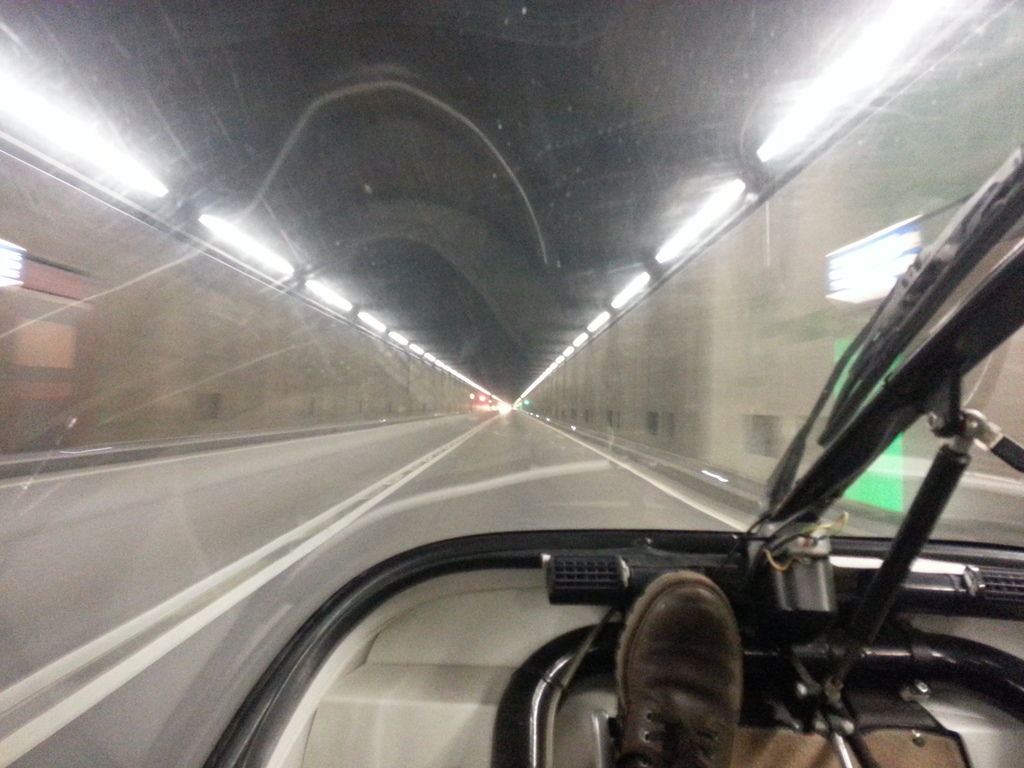 in the gotthard tunnel