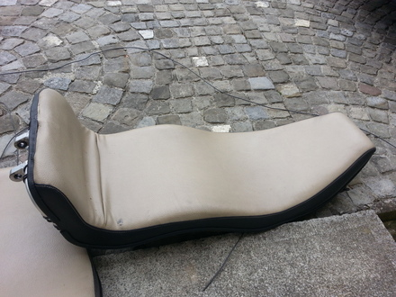a TWIKE seat - a very light and (somewhat) comfortable design