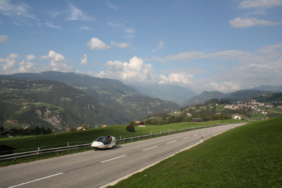 on our way up from bolzano