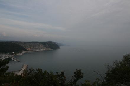 trieste coast line