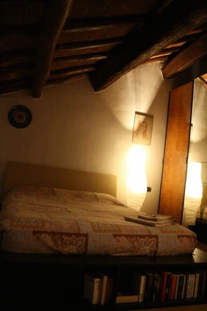 a very comfy and nice room at casa mortarino