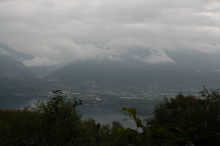 back down to the lago maggiore