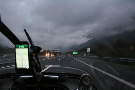 heavy rain ahead