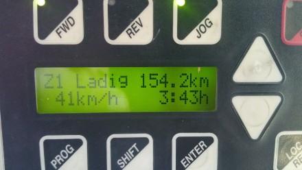 TWIKE computer: 154km@41km/h