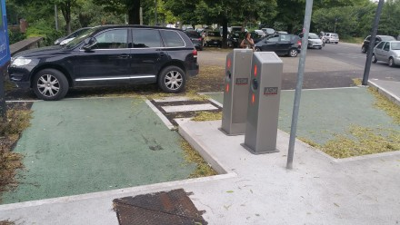 park... and charge - a challenge!