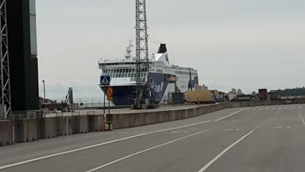 helsinki > tallin - TW560's ferry arrives