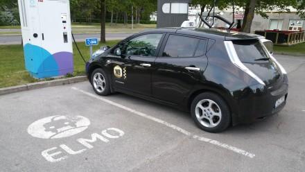 tallin electric taxi