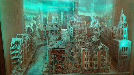 visualisation of kaliningrad after allied bombardment
